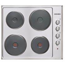 Anafe Eléctrico Domec Mod. Ge66 - 4 Hornallas