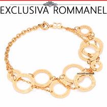 Rommanel Pulseira Tripla Dez 10 Mandamentos Circulos 550885