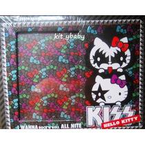 Hello Kitty,portaretrato Kiss, Original De Sanrio