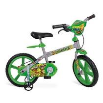 Bicicleta Infantil Tartarugas Ninja Aro 14 Bandeirante
