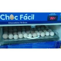 Chocadeira Automática Digital - 70 Ovos - Voltagen 127v
