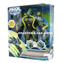 Max Steel Toxzon Garras Toxicas Original Mattel