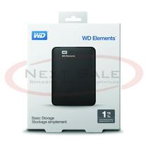 Disco Rigido Externo Wd Elements 1tb Usb 3.0 - Zona Norte