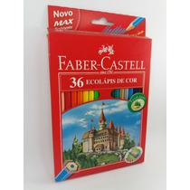 Caixa De Lápis De Cor Faber Castell Com 36 Cores