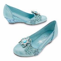 Zapatos Disfraz Frozen Elsa Disney Store Usa Original