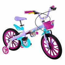 Presente De Aniversário Bicicleta Infantil Aro 16 Frozen