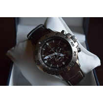 Reloj Nautica N17522g Piel 100% Orig.l Unico Tiempo Exacto