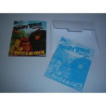 Invitaciones Cajas Bolsas Dulceros Fiesta Angry Birds Movie