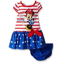 Vestido De Minnie Mouse Original Disney