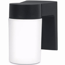 Arbotante Tipo Vaso Foco 100w Cristal Jardin Voltech 47287