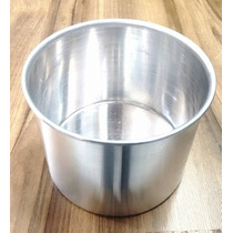 Forma Para Panetone - Alumínio - 13 X 10 Cm