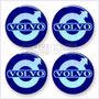 Juego De Tapacubos Volvo - Pegatinas Resinadas Para Automóvi