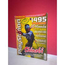 Revista Dicas/truques Playtation- Shinobi - # 43 Equipe- Fj!