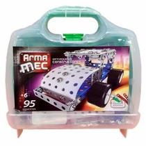 Armamec Bloque Tipo Mecano 95 Piezas
