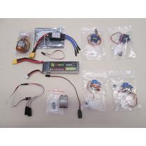 Kit Combo Motor D2836/7 + Bat 2200+ 4 Servos + Esc 30a + Y
