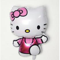 Globo Metalico De Kitty 74 X 47 Cm Color Rosa