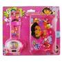 Billetera Y Reloje Infantil De Dora Con Proyector !! Oferta