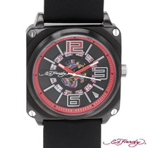 Reloj Ed Hardy Christian Audiger, Acero, Piel 1 Sp0