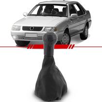 Coifa Alavanca Câmbio Napa Preta Volkswagen Santana 98 Á 03
