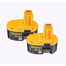 Set De Baterias (2pzas) Dewalt Dc9091 Xrp 14.4v