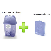 Combo Tacho Para Pañales + Guarda Pañal Dreams
