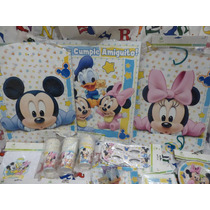 Combo Mickey/minnie Bebes Para 20 Chicos Super Oferta!!