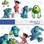 Kit Imprimible Monsters Inc Pack Clipart Imagenes Png