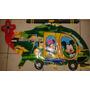 Globo 77cmx47cm O 30pulgadas Helicoptero Minnie Mickey Mouse