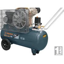 Compresor Lubricado De Banda 60 L Voltaje Dual Truper Oferta