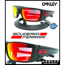 Oakley Ferrari Fuel Cell Matte Black - Ruby Iridium 9096-a8