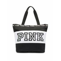Cartera Bolso Playero Victoria´s Secret Pink Con Cierre