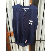 Casaca Mlb (champro) Usa N.york Yankees #19 Talle M Nueva.