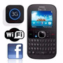 Alcatel Onetouch 3075m 3g Wi-fi Facebook Mp3 Novo +nf