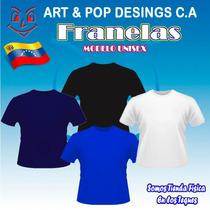 Franela, Franelas Unicolor, Franelas Algodón