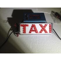 Letrero De Taxi O Libre Led Eurotruck Mexico