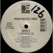 Proyecto Uno Brinca Acetato Maxi Importado Rap Español 90