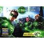 Kit Anel Do Filme Do Lanterna Verde Que Acende + Dvd.