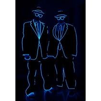 Fio Led Neon Azul Hutz 10 Metros C/ Controle