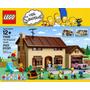 The Simpsons House (casa) - Lego---con Figuras De Personajes