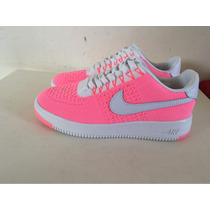 Zapatillas Nike Air Force Fliknit ( Tela) Originales