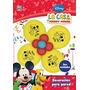 Mickey Globos Flor Dos Deco Cumple Mickey Mouse Minnie