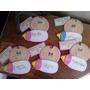 Souvenirs En Goma Eva Xa Cumpleaños, Baby Shower, Nacimiento