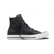 Zapatillas Converse Bota All Star Hi Black Cuero