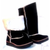 Pantubotas Con Piel Zapatos Botitas Mujer Fiorcalzados