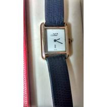Reloj Cartier Tank Must De Cuerda Chapeado En Oro