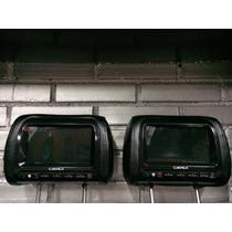Pantallas Apoya Cabezas Marca Carmax 7 Cm-7301 Semi Cuero.