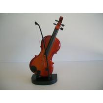 Mini Instrumento Musical Brinquedo Violino