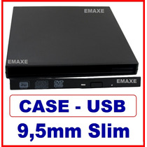 Case Gaveta Para Dvd Rom - Externa Slim 9,5mm