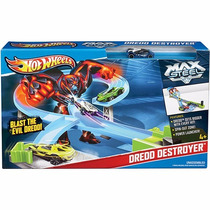 Hot Wheels - Pista Max Steel Vs Dredd Destroyer X9326