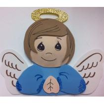 Figura Foamy Termoformado Angel Niño Lote 10 Piezas Fomi